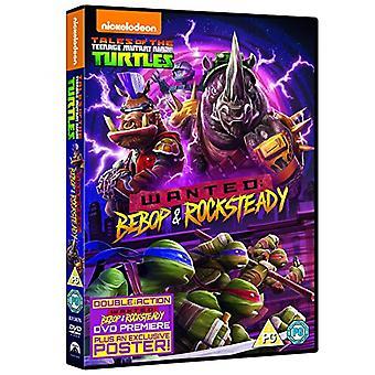Teenage Mutant Ninja Turtles: Efterlyst - Bebop och Rocksteady DVD