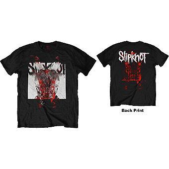 Slipknot - Devil Single - Logo Blur Menn Liten T-skjorte - Svart