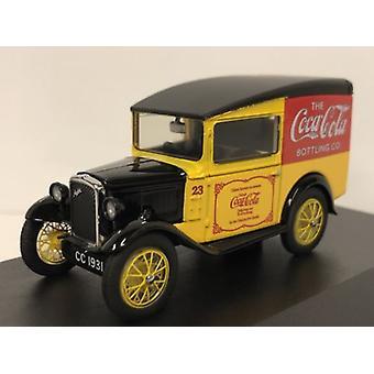 Austin Seven Van Coca Cola 1:43 Scale Oxford 43ASV008CC