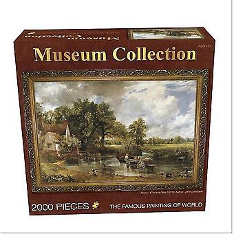 Hooikar 2000 stukjes olieverfschilderij volwassen puzzels az1064