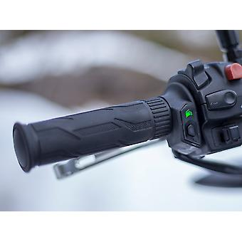 Advanced motorcycle heated grips integrated control system