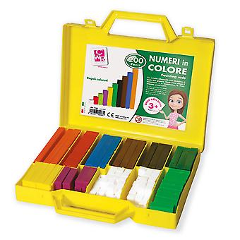 Counting Rods Educational Early Learning Child Kid Toddler School Numbers