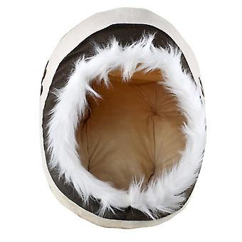 Koira toimittaa koiran kennel nalle boomerang samoye