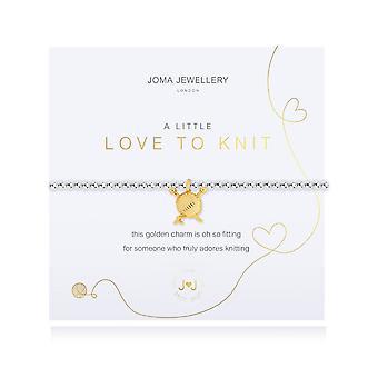 Gioielli Joma un piccolo amore per lavorare a maglia braccialetto 4683