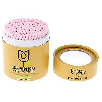200pcs/box Single Head Disposable Makeup Cotton Swab Soft Cotton Buds