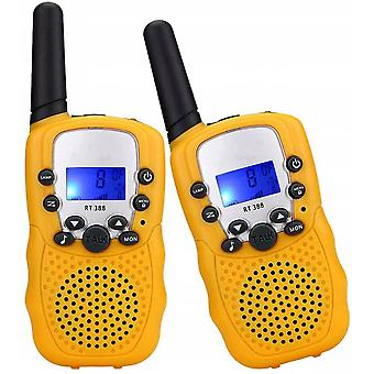 Walkie Talkies Toys For 3-12 Year Old, 22 Channels 2 Way Radio 3 Miles Range Gifts For 4-14 Year Old Boys Girls Outdoor Adventures Hiking Camping (blu