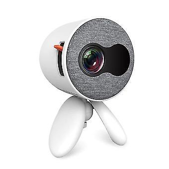 Projecteur portable USB LED 1080P HD Bedroom (Blanc)