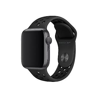 Offisiell Apple Watch Nike Sport Band Strap 42mm / 44mm / 45mm - Anthracite Black