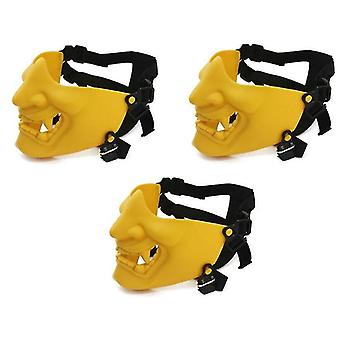 Neck gaiters 3d thick harajuku streetwear hiphop cool face mouth mask sm129792