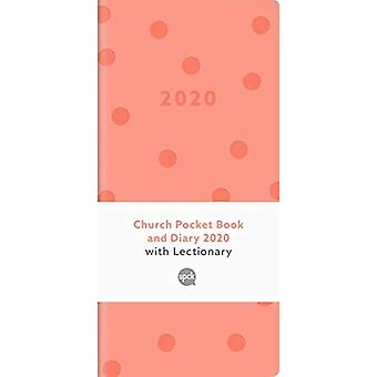 Church Pocket Book and Diary 2020: Spot Blush