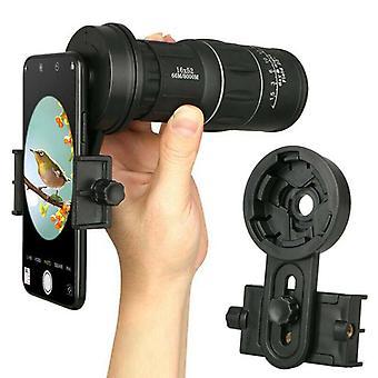 Cell Phone Adapter Mount Binocular Monocular Spotting Scope Telescope Universal