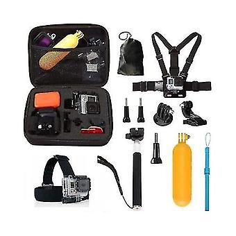 10 in1 Straps Accessories Kit pour GoPro Hero 5 4 Session 3+ 3 YI Action Camera
