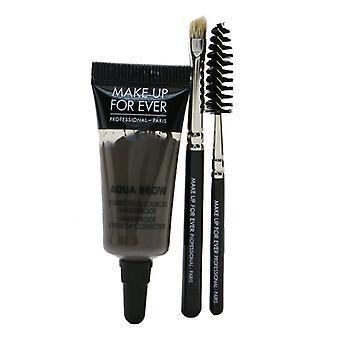Make Up For Ever Aqua Brow Kit - #35 Taupe 7ml/0.23oz