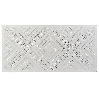 Kopfteil DKD Home Decor Weiß MDF Holz (160 x 3 x 80 cm)