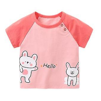 Baby Clothes Short-sleeved T-shirt Cartoon Print