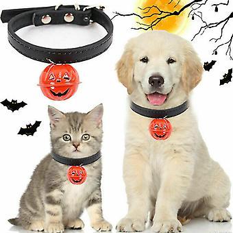Kürbis Bell Dekor Haustier Halsband Halloween Hund Katze Universal Halsband