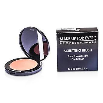 Make Up For Ever Sculpting Blush Powder Blush - #10 (satin Peach Pink) - 5.5g/0.17oz