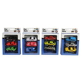 Carro Diecast escala 1: 87 MT conjunto de 3 crianças Play brinquedos