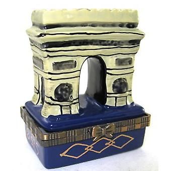 Arch Arc de Triomphe Paris France Trinket Box