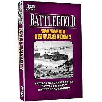 Importer des champs de bataille USA WW2 Invasion [DVD]