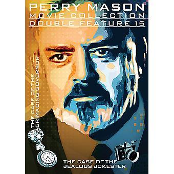 Perry Mason: Tapaus irvistäen kuvernööri [DVD] Yhdysvallat tuoda