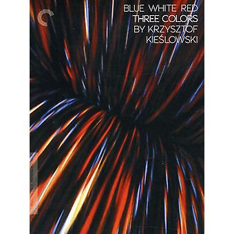 Three Colors: Blue White Red [DVD] USA import