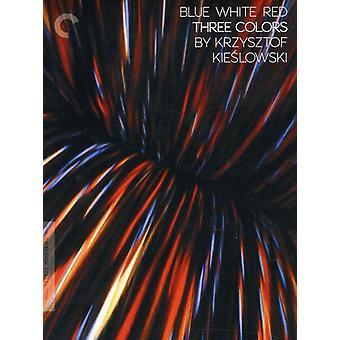 Tre färger: Blå vit röd [DVD] USA import