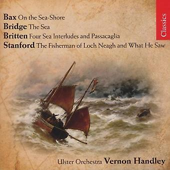 Works of the Sea - Handley Conducts Bax, Bridge, Britten & Stanford [CD] USA import