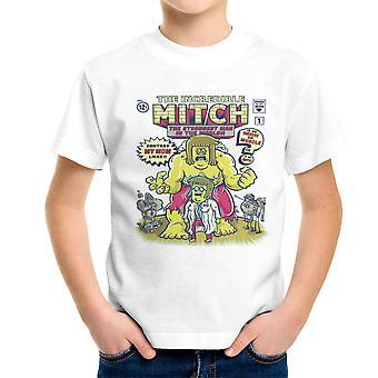 Die unglaubliche Mitch zeigen regelmäßig Kinder T-Shirt