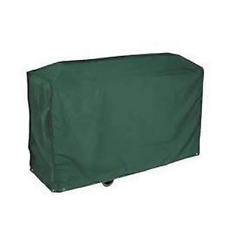 Caraselle Deluxe groen Bosmere Trolley BBQ-Cover 97x79x51cm