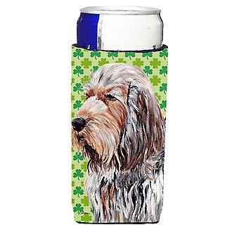 Otterhound Lucky Shamrock St. Patrick's Day Ultra Beverage Insulators for slim c