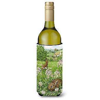 Leveret en Momma konijn wijnfles drank isolator Hugger