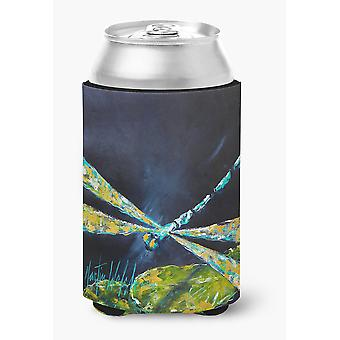 Insect - Dragonfly Night Flight Dark Blue Can or Bottle Beverage Insulator Hugge