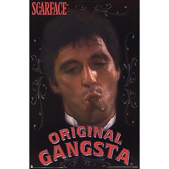 Scarface - Original Gangsta Plakat Poster drucken
