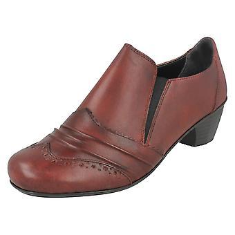 Senhoras Rieker adornado sapatos com sotaque detalhando 41730