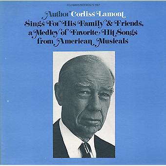 Corliss Lamont - Corliss Lamont zingt voor zijn familie & vrienden een Me [CD] USA import