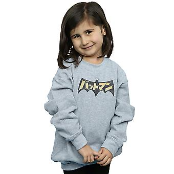 DC Comics Girls Batman International Logo Sweatshirt