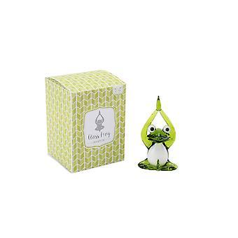 CGB Giftware Artisan Glass Frog