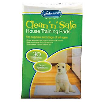 Johnsons House Training Pads (Pack Of 30)