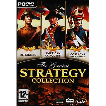 The Greatest Stategy Collection (PC DVD) - Nowość