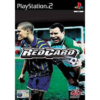 Rött kort fotboll (PS2)-nytt