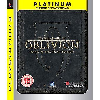 The Elder Scrolls IV Oblivion - Spiel des Jahres - Platin (PS3) - Neu