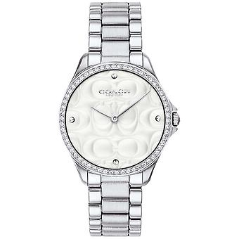 Coach Womens Modern Sport In Stainless Steel 14503070 Watch
