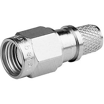 Telegärtner J01150R0051 J01150R0051 R-SMA liitin Pistoke, suora 50 Ω 1 kpl