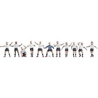 NOCH 15965 H0 Figures football team white/black