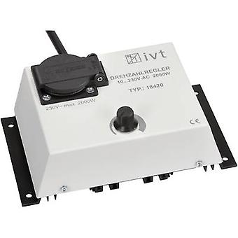 IVT DR-2000Manual dimmer phase speed control2000 W dimmer