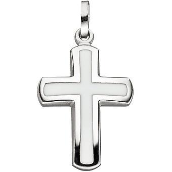Pendentif argent 925 Croix Croix pendentif argent pendentif argent Croix blanc