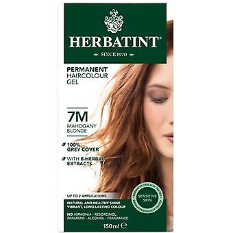 Herbatint, Mahogany Blonde Hair Colour 7M, 150ml