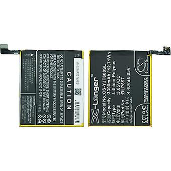 X-longer replacement battery battery battery for OnePlus 6 A6000 A6003 replaced BLP657 battery