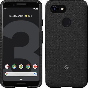 Virallinen Google Pixel 3 -kangaskotelon kansi GA00486 - Carbon Black